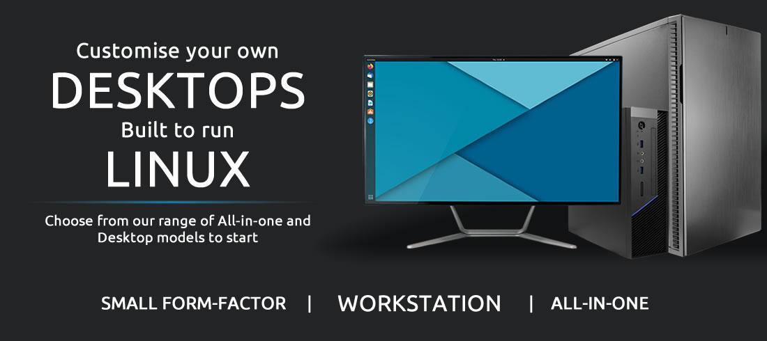 Ubuntu Linux Desktop range