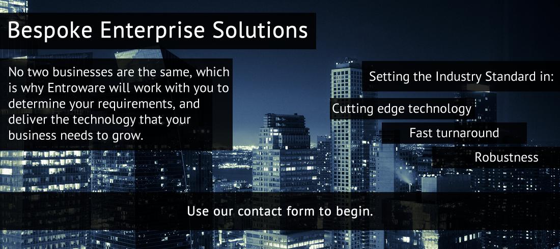 Entroware Custom Enterprise Services